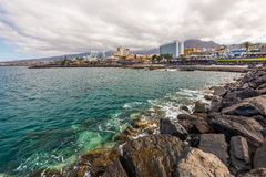 Tenerife view Royalty Free Stock Image