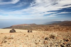 Tenerife - view from Teide Stock Image