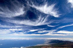 Tenerife. View from Teide, Spain Stock Photo