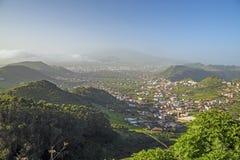 Tenerife, visión abajo al oeste Imagenes de archivo