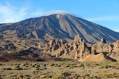 Tenerife volcano Stock Image