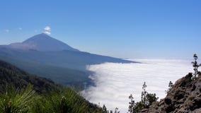 Tenerife - vulcão Telde Fotos de Stock