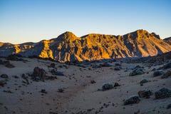 Tenerife vulcan τοποθετεί το εθνικό πάρκο EL Teide Στοκ φωτογραφία με δικαίωμα ελεύθερης χρήσης