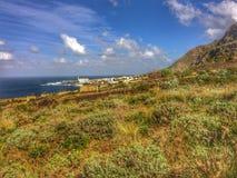 Tenerife, wild coast in Hidalgo Royalty Free Stock Image