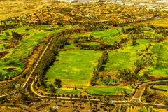 Tenerife wyspy kanaryjska widok z lotu ptaka Zdjęcia Stock