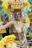 TENERIFFA, AM 28. FEBRUAR: Charaktere und Gruppen im Karneval Stockfotografie