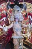 TENERIFFA, AM 28. FEBRUAR: Charaktere und Gruppen im Karneval Lizenzfreie Stockfotografie