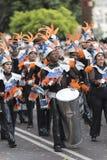 TENERIFFA, AM 28. FEBRUAR: Charaktere und Gruppen im Karneval Stockbild