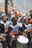 TENERIFFA, AM 28. FEBRUAR: Charaktere und Gruppen im Karneval Stockbilder