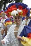 TENERIFFA, AM 28. FEBRUAR: Charaktere und Gruppen im Karneval Stockfoto