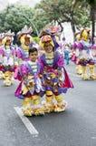 TENERIFFA, AM 28. FEBRUAR: Charaktere und Gruppen im Karneval Lizenzfreies Stockfoto