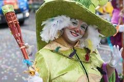TENERIFFA, AM 28. FEBRUAR: Charaktere und Gruppen im Karneval Stockfotos