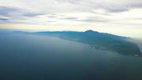 Teneriffa-Insel mit Teide-Vulkan stock video