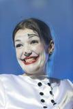 TENERIFFA, AM 20. JANUAR: Karnevalsgruppen und kostümierte Charaktere Stockbild