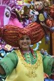 TENERIFFA AM 5. MÄRZ: Viel Spaß an den Karnevalen auf der Straße 5. März 2019 Kanarische Inseln Spanien Teneriffas stockfotos