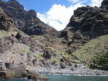 Teneriffa. Masca valley at Tenerife - Spain Royalty Free Stock Image