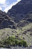 Teneriffa. Masca valley at Tenerife - Spain Stock Image