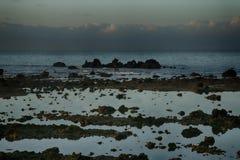Teneriffa, Szene um Playa Colmenares, Landschaft stockbilder