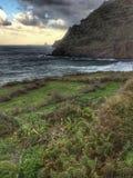 Teneriffe island with rough coast Stock Photo