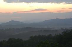 Tenessee Sonnenaufgang 1 Lizenzfreies Stockfoto