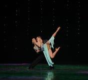Tenez-vous dans ma magie de bras-Le de danse du monde de l'Autriche de danse-le d'amour-flamant Image libre de droits