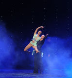 Tenez-vous dans ma magie de bras-Le de danse du monde de l'Autriche de danse-le d'amour-flamant Images libres de droits