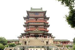 Teng Wang Tower Prince Teng Pavilion Royalty Free Stock Image