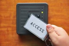Tenga acceso al clave Foto de archivo libre de regalías