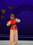 """Tenga el regalo del  del oeste de Chamber†del """"the de la ópera de palique-Hong Niang-Kunqu imagen de archivo libre de regalías"""