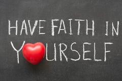 Tenga fe Fotografía de archivo libre de regalías