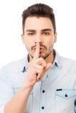 Tenga il mio segreto! immagine stock