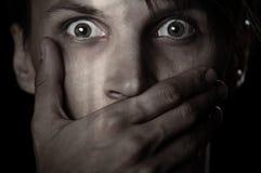 Tenga il silenzio Fotografia Stock Libera da Diritti