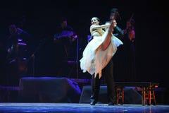 Tenga l'identità del up-the del dramma di ballo di mistero-tango Fotografia Stock