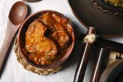 Tenga - um prato popular de Assam. Imagens de Stock