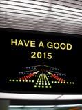 Tenga un buen 2015 Fotos de archivo libres de regalías