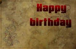 Tenga un buen cumpleaños Foto de archivo