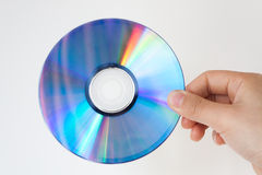 Tenga un CD Foto de archivo