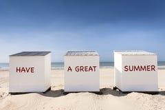 Tenga un gran verano Fotografía de archivo libre de regalías