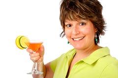 Tenga una bebida Imagen de archivo libre de regalías