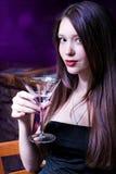 Tengamos una bebida Foto de archivo libre de regalías
