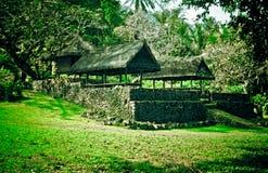 Tenganan Village Bali Stock Photo