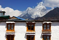 Tengboche Royalty Free Stock Photography