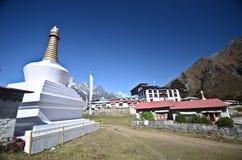 Tengboche - Himalaya village stock images