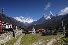 Tengboche Monastery Stock Image