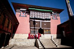 Tengboche Monastery, Nepal Royalty Free Stock Photos