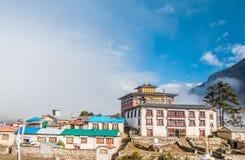 Tengboche monastery in Nepal Stock Image