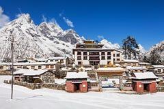 Tengboche Monastery, Nepal Stock Images