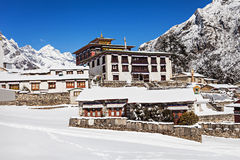 Tengboche Monastery, Nepal Stock Photo