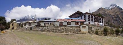 Tengboche monastery sagarmatha everest region Stock Image