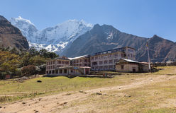 Tengboche village buildings. Stock Images
